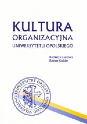 Kultura organizacyjna Uniwersytetu - okładka książki