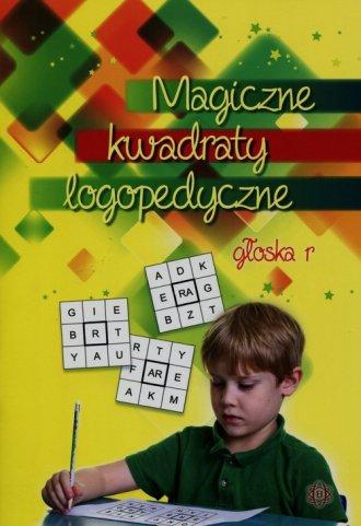 Magiczne kwadraty logopedyczne - okładka książki