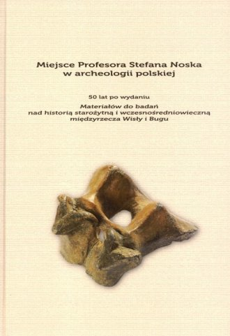 Miejsce Profesora Stefana Noska - okładka książki