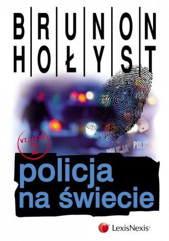 Policja na świecie - okładka książki