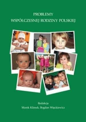 Problemy współczesnej rodziny polskiej - okładka książki