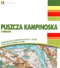 Puszcza Kampinoska i okolice - okładka książki
