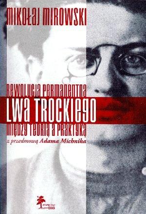 Rewolucja permanentna Lwa Trockiego - okładka książki