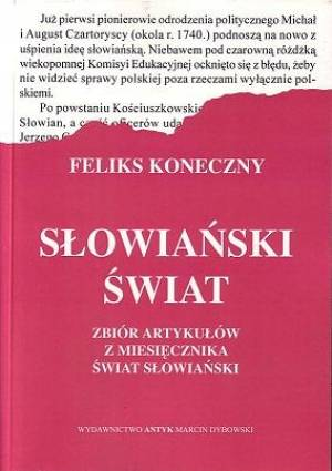 Słowiański Świat. Zbiór artykułów - okładka książki