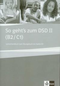 So gehts zum DSD II. Lehrerhandbuch zum Ubungsbuch (+ CD) - okładka podręcznika