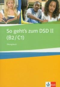 So gehts zum DSD II. Ubungsbuch - okładka podręcznika