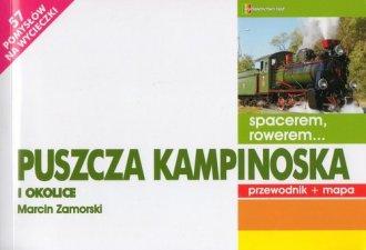 Spacerem rowerem... Puszcza Kampinoska - okładka książki