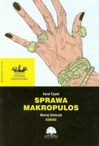 Sprawa Makropulos - okładka książki