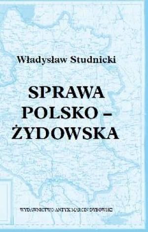 Sprawa polsko-żydowska - okładka książki