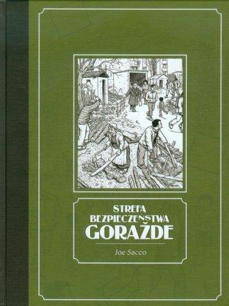 Strefa bezpieczeństwa Gorażde - okładka książki
