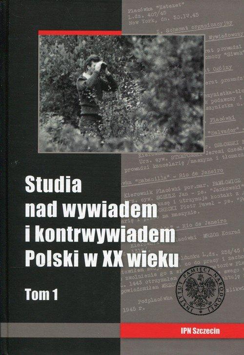 Studia nad wywiadem i kontrwywiadem - okładka książki