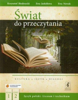 Świat do przeczytania. Język polski. - okładka podręcznika