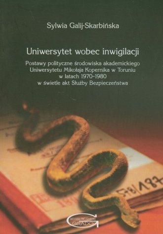 Uniwersytet wobec inwigilacji. - okładka książki