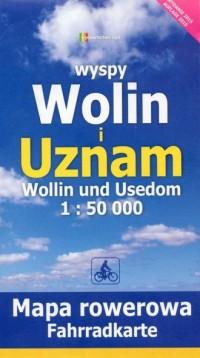 Wyspy Wolin i Uznam. Mapa rowerowa (skala 1: 50 000) - okładka książki