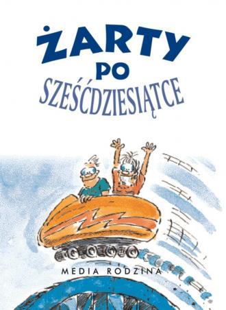 Żarty po sześćdziesiątce - okładka książki