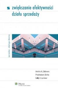 Zwiększanie efektywności działu sprzedaży - okładka książki