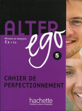 Alter Ego 5. Ćwiczenia - okładka podręcznika