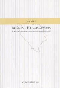 Bośnia i Hercegowina. Etnopolityczne - okładka książki