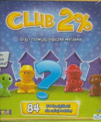 Club 2%. Graj i rozwijaj logiczne - zdjęcie zabawki, gry