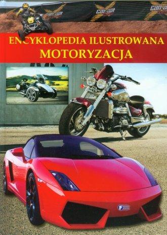 Encyklopedia ilustrowana. Motoryzacja - okładka książki