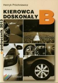 Kierowca doskonały B 2015. Podręcznik kierowcy (+ CD) - okładka książki