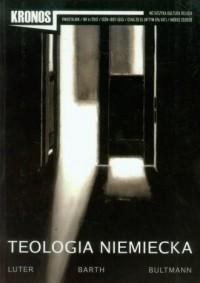Kronos nr 42012. Teologia niemiecka - okładka książki