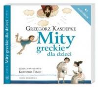 Mity greckie dla dzieci (CD mp3) - pudełko audiobooku