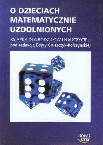 O dzieciach matematycznie uzdolnionych. - okładka książki