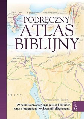 Podręczny Atlas Biblijny - okładka książki