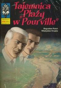 Tajemnica Plaży w Pourville - okładka książki