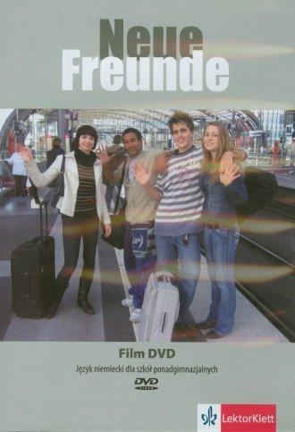 ok�adka audiobooka - Neue Freunde. Film DVD   J�zyk niemiecki dla szk� ponadgimnazjalnych - Wydawnictwo LEKTORKLETT