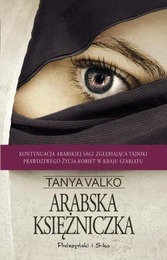 Arabska księżniczka - okładka książki