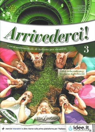 Arrivederci 3 Podręcznik z ćwiczeniami - okładka podręcznika