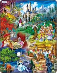 Baśnie Braci Grimm (puzzle) - zdjęcie zabawki, gry