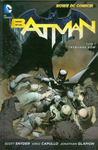 Batman. Tom 1. Trybunał sów - okładka książki