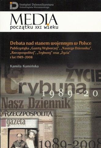 Debata nad stanem wojennym w Polsce. - okładka książki