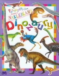 Dinozaury. Naklejki - okładka książki