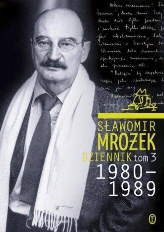 Dziennik. Tom 3. 1980-1989 - okładka książki