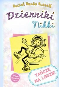 Dzienniki Nikki. Tańczę na lodzie - okładka książki