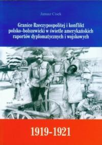Granice Rzeczypospolitej i konflikt - okładka książki