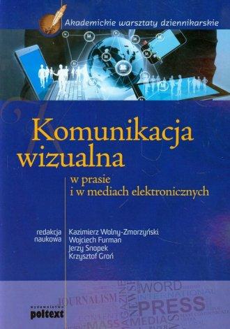 Komunikacja wizualna w prasie i - okładka książki