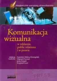 Komunikacja wizualna w reklamie - okładka książki