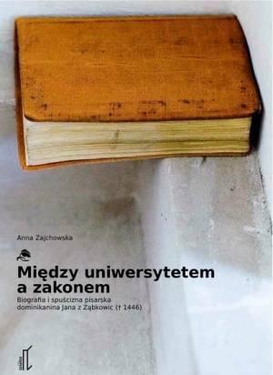 Między uniwersytetem a zakonem. - okładka książki