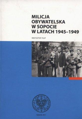 Milicja Obywatelska w Sopocie w - okładka książki