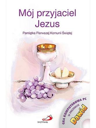 Mój przyjaciel Jezus. Pamiątka - okładka książki