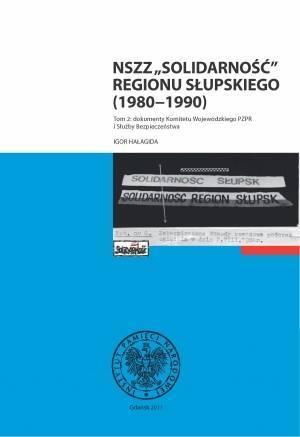 NSZZ Solidarność Regionu Słupskiego - okładka książki