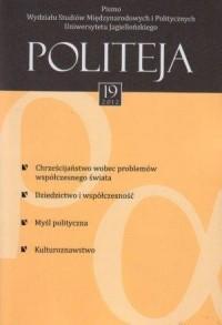 Politeja nr 19/2012 - okładka książki