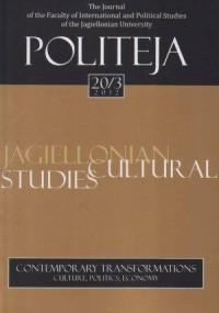 Politeja nr 20/3/2012. Contemporary - okładka książki
