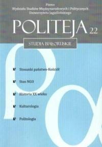 Politeja nr 22. Studia białoruskie - okładka książki