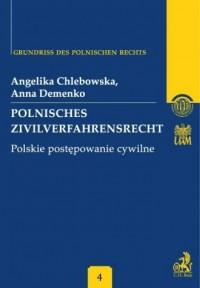 Polnisches Zivilverfahrensrecht. - okładka książki